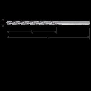 HEVU TOOLS HEVU Metaalboor HSS-G silver-line - lang - Ø2 t/m 13 mm