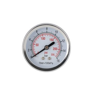 "Airpress Airpress Manometer 1/4"" buitendraad - 4345219"