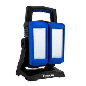 Eurolux Eurolux Twin-Spot 4500 LED accu bouwlamp - 45W - 5700K - 4500 Lumen - 55.102.50