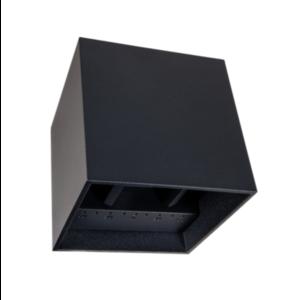 Tronix Tronix Wandlamp Cube dimbaar - 6W - 10x10x10 cm - 2700K - zwart - 149-144