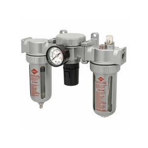 """Airpress Airpress Olie/ waterafscheider reduceerventiel en olienevelaar - 1/2"""" - 15 bar - 452034 - 1"""