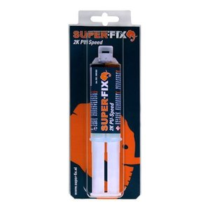 Super-Fix Super-Fix PU speed lijm - 25 ml - zwart - 1601007BL