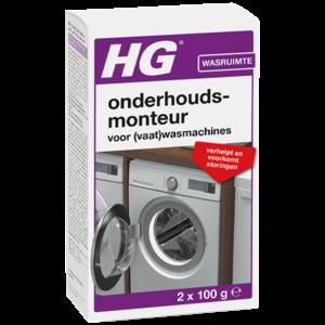 HG HG Onderhoudsmonteur voor was- en vaatwasmachines - 200 ml