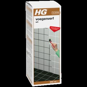HG HG Voegenkleur - voegenverf wit - 250 ml