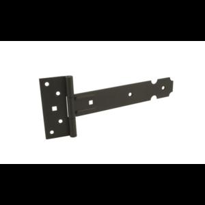 Gebr. Bodegraven GB Kruisheng 250x35x2 mm - lichte uitvoering - staal zwart epoxy - 17208140