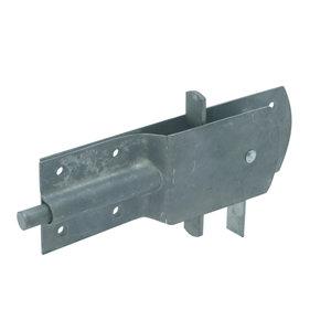 Gebr. Bodegraven GB Varkenshokgrendel 205x65 mm - thermisch verzinkt