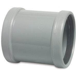 PVC-U Reparatiesok zonder stootrand - Ø110 t/m Ø200 mm - SN4, KOMO/BENOR - 2x manchet