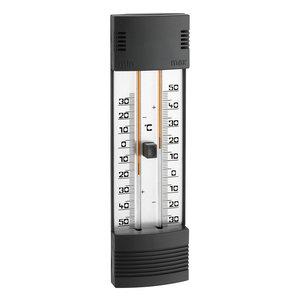 TFA TFA Thermometer min/max kwikvrij - binnen & buiten - zwart
