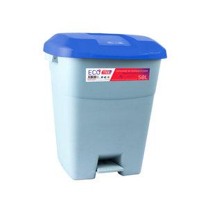 Tayg Tayg Afvalcontainer met voetpedaal - 50 liter - 434020
