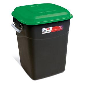 Tayg Tayg Afvalcontainer - 50 liter - groen/ zwart - 412035