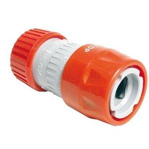 """Talen tools Talen tools Snelkoppeling 1/2"""" met stop en slanghouder - Ø12-18 mm - RS4451BL"""