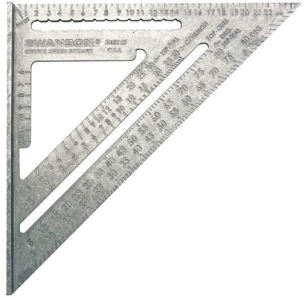 Swanson Swanson Timmermans meetdriehoek - 250 mm