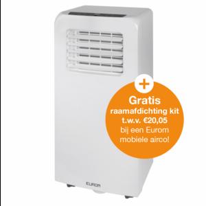Eurom Eurom PAC 9.2 Mobiele Airconditioner - 2600W - 9000 Btu/h - 380385