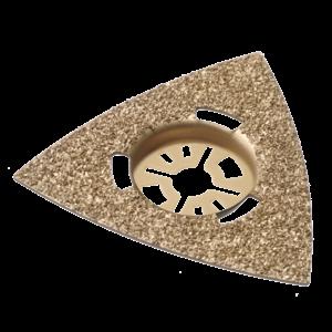 Qblades Qblades UN40 Hardmetalen slijpdriehoek multitool - 80 mm - universeel