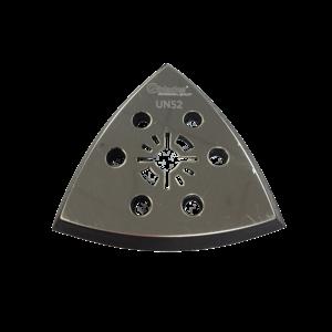 Qblades Qblades UN52 Schuurvoet driehoek geperforeerd - 93 mm - universeel - 2 stuks