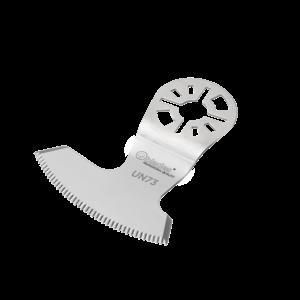 Qblades Qblades UN73 Segmentmes sikkel gekarteld - 60 mm - RVS - Universeel