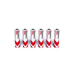 PerfectPro PerfectPro NIMH AA batterijen 1,2V-2,5 Ah - 6 stuks - B-AA6