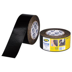 HPX tapes HPX Airtight UV Flexibele PE tape - 60 mm x 25 meter - zwart - US6025