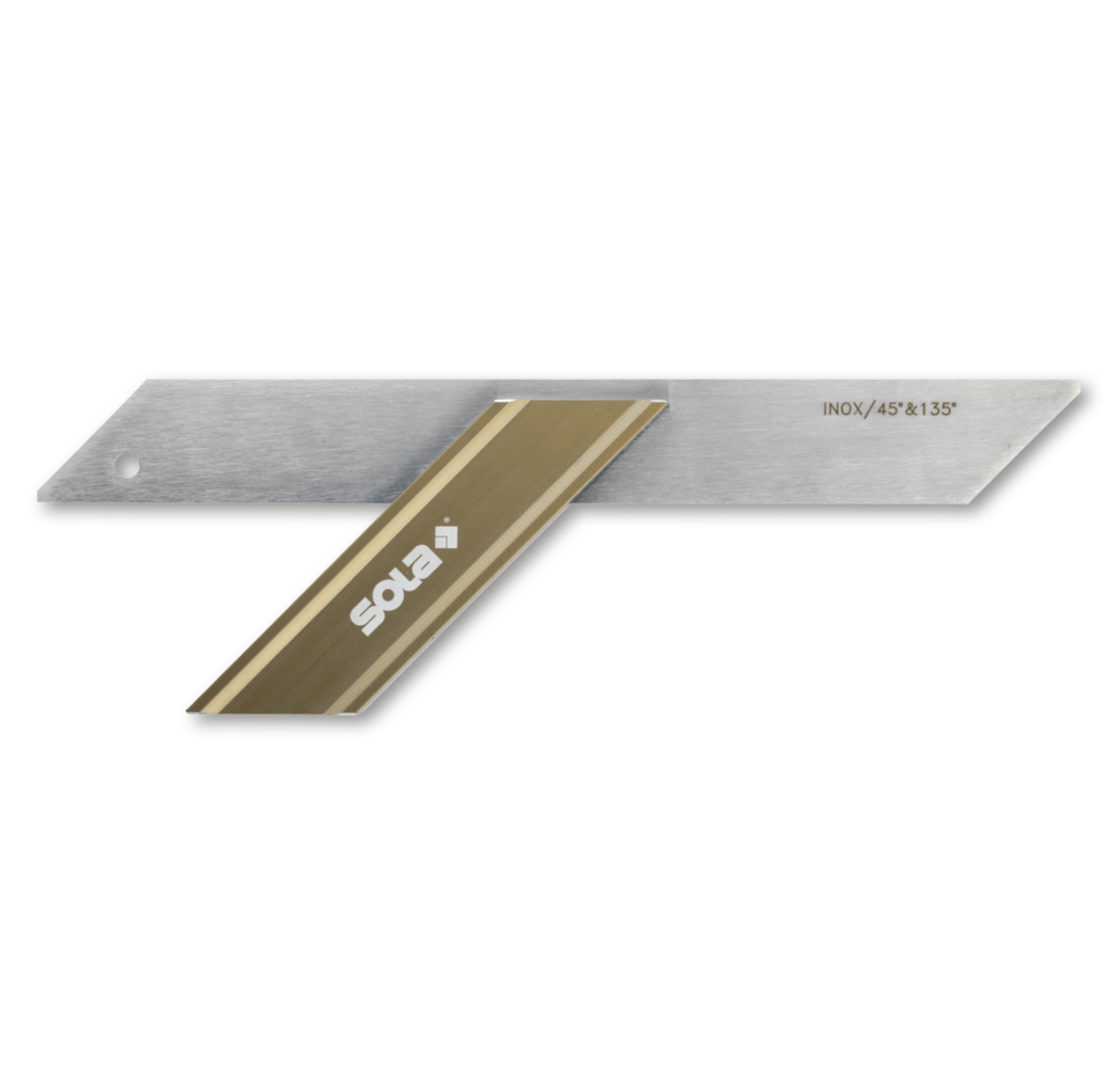 Sola Sola GWB 300 Verstekhaak - 300 mm - aluminium blok - 56031101