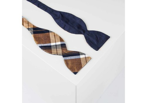 THEBOWKNOT by Gentleman´s Agreement Fliege aus Dupionseide | THEBOWKNOT