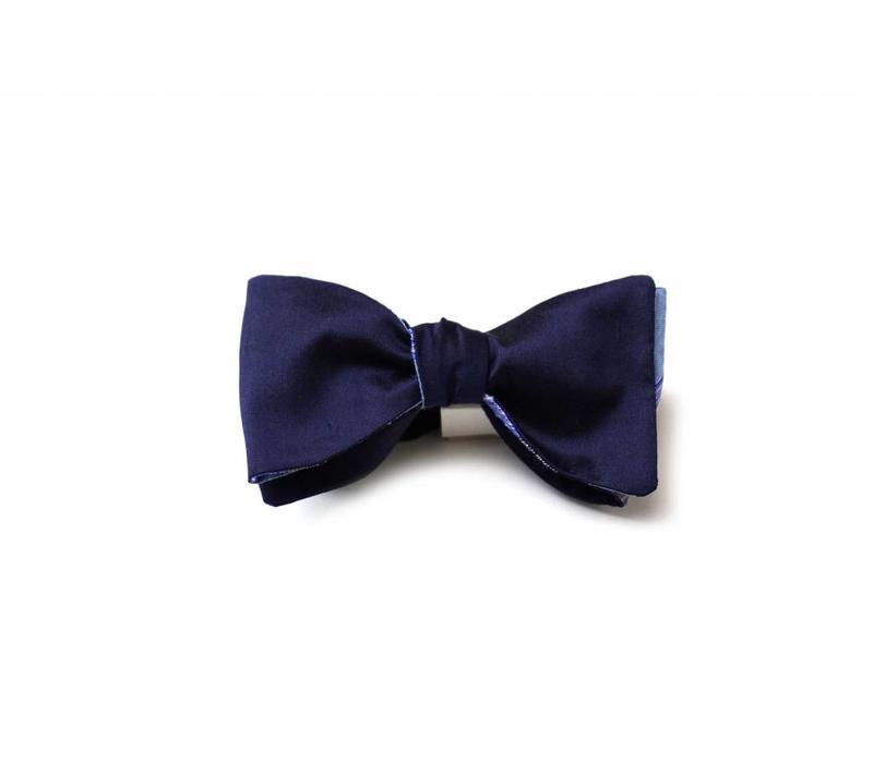 Accessoire-Set - Einstecktuch, Fliege, Socke - Royalblau/bunt
