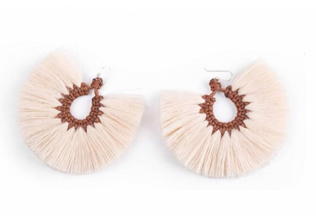Earrings Penacho