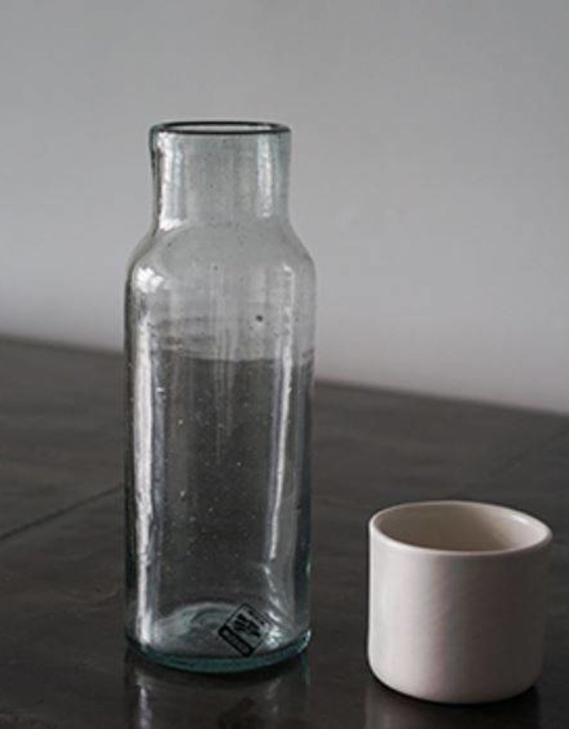 Carafe white cup