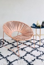 Cali Copper  Leather  chair