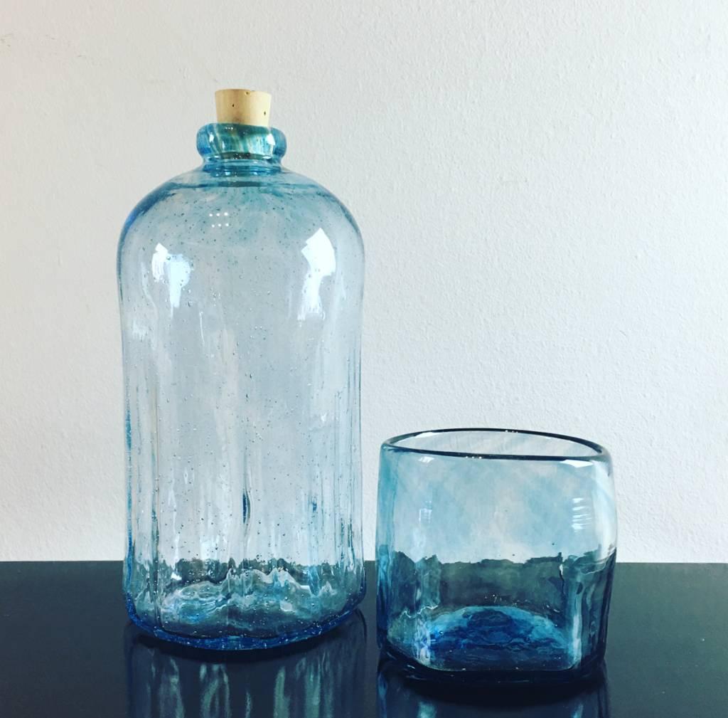 Handgeblazen fles
