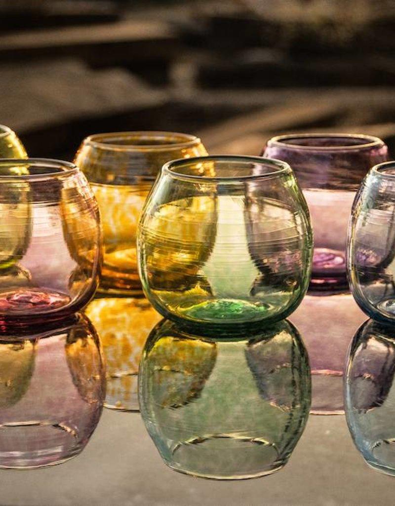 Hand-blown decorative glass