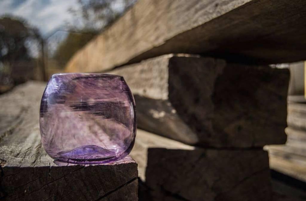 Handgeblazen decoratief glas