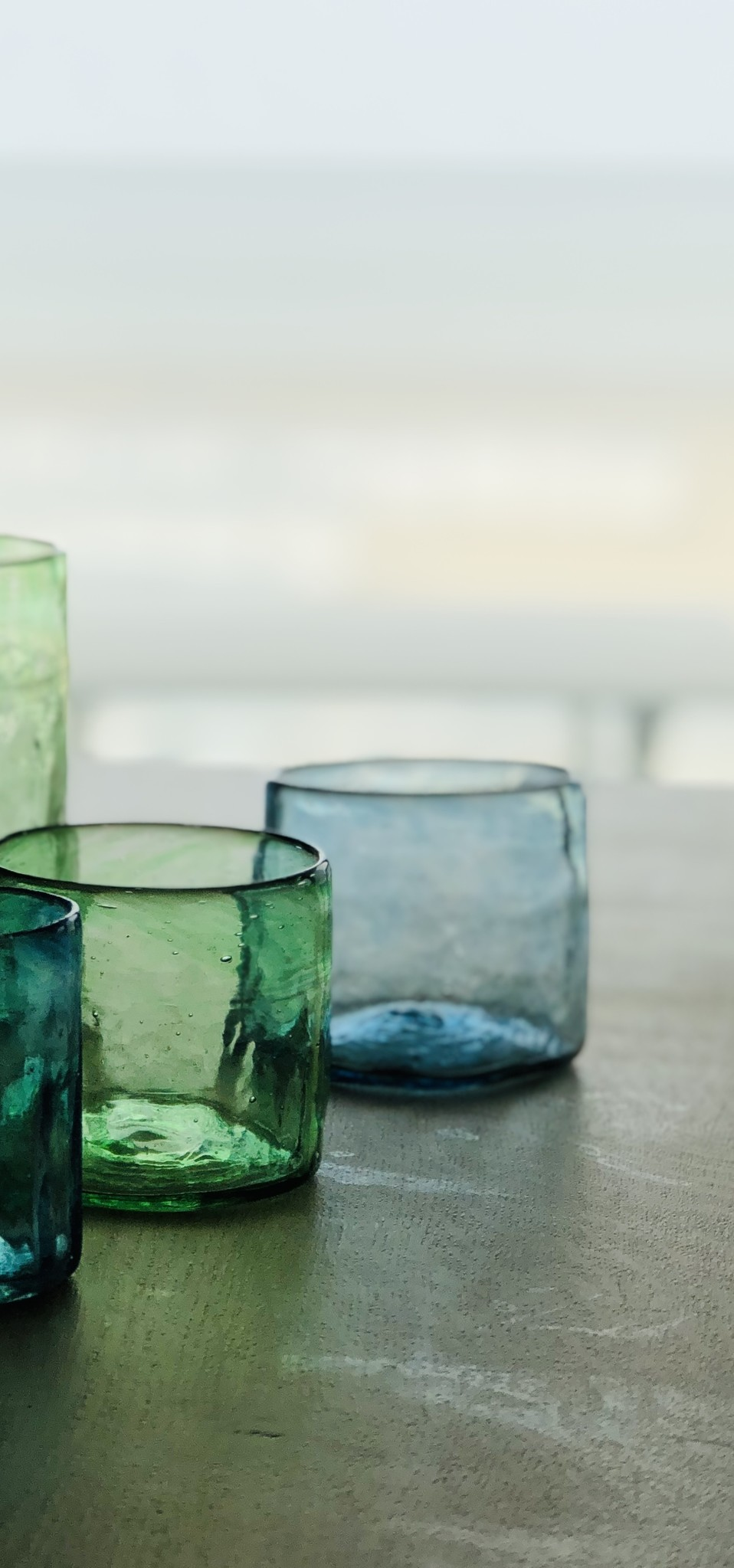 Hand-blown glass small