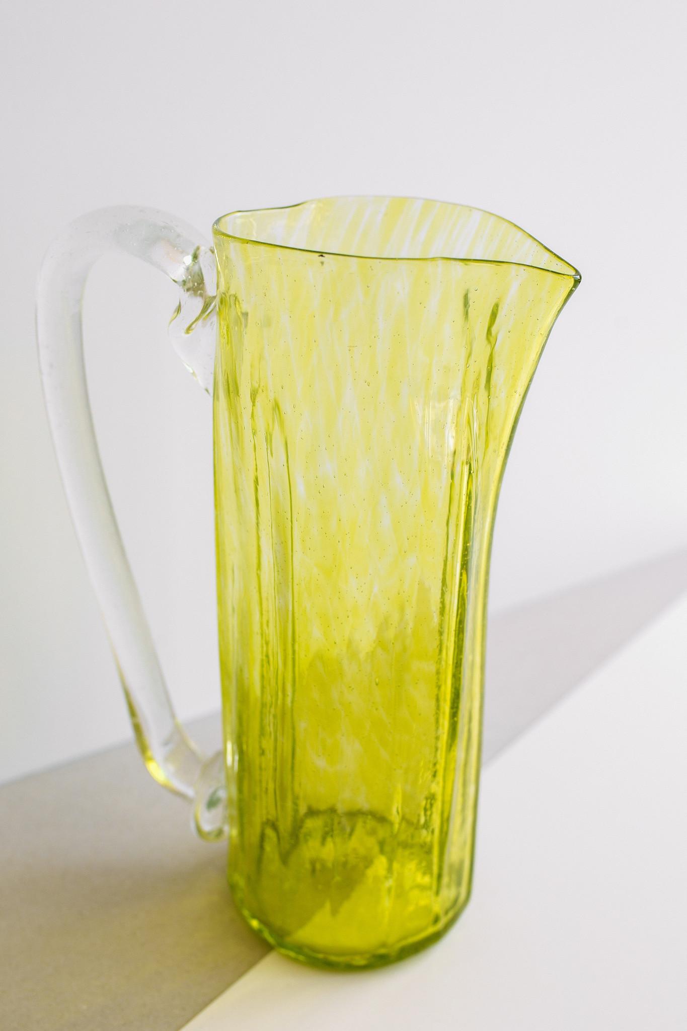 Hand-blown  jug