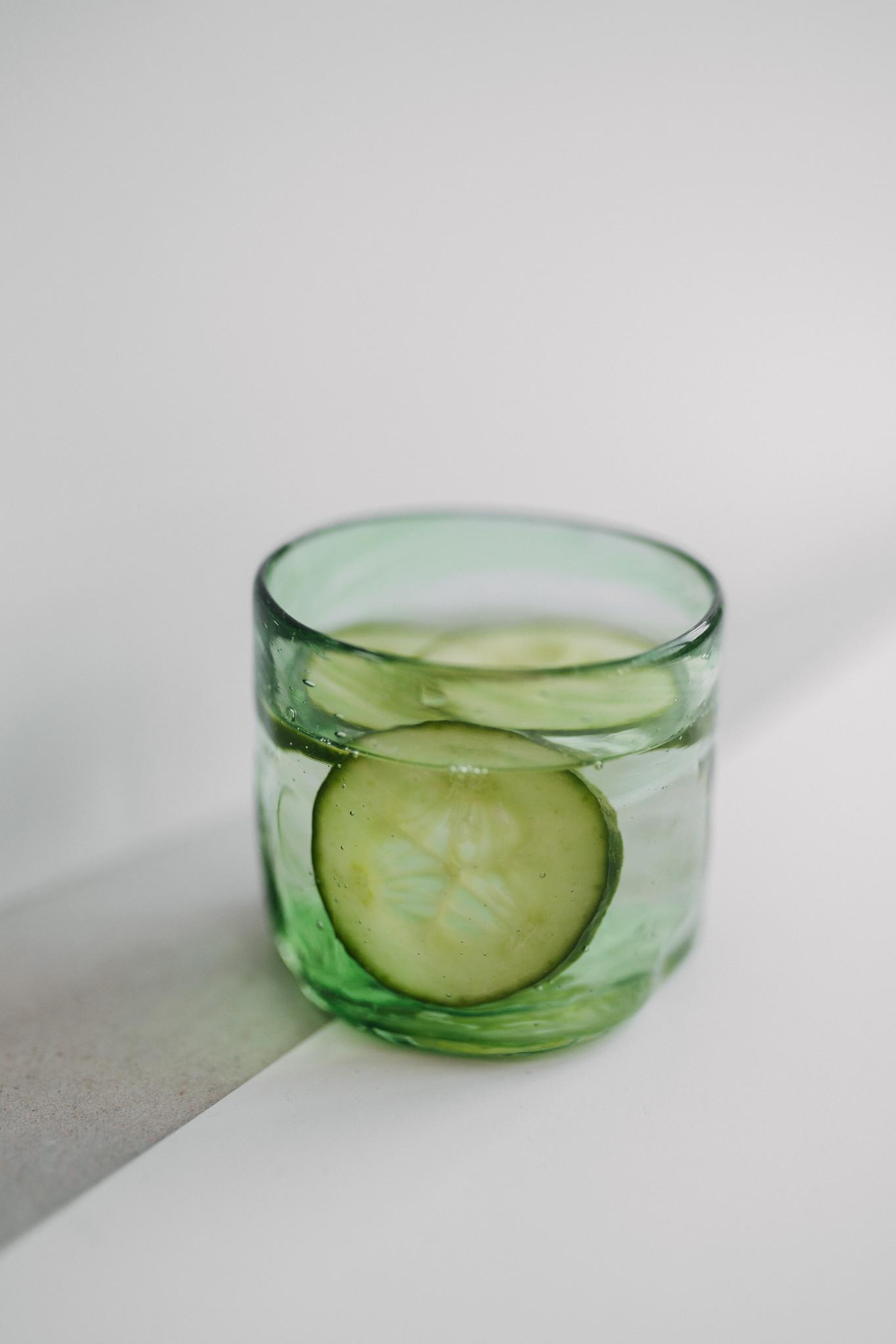 Handgeblazen glas klein