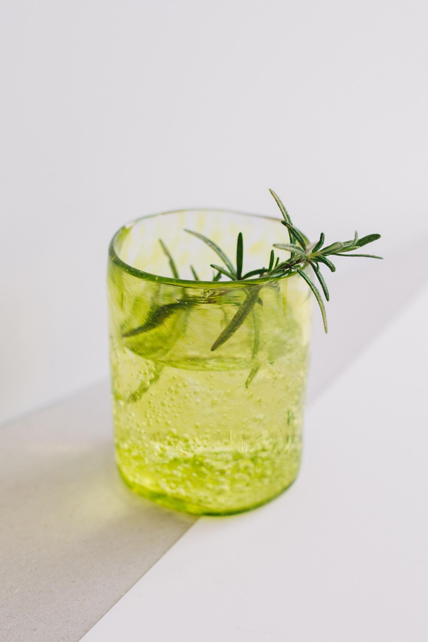 Hand-blown glass medium