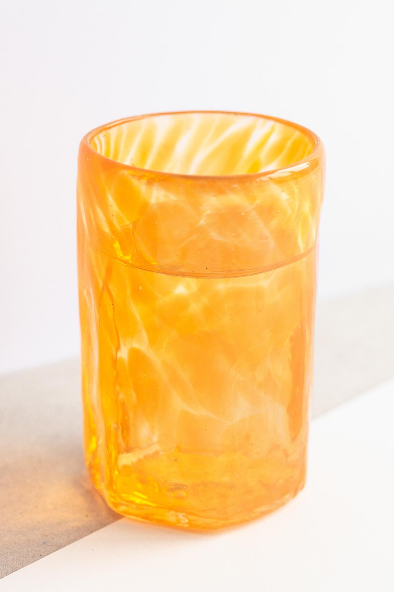 Hand-blown shot glass