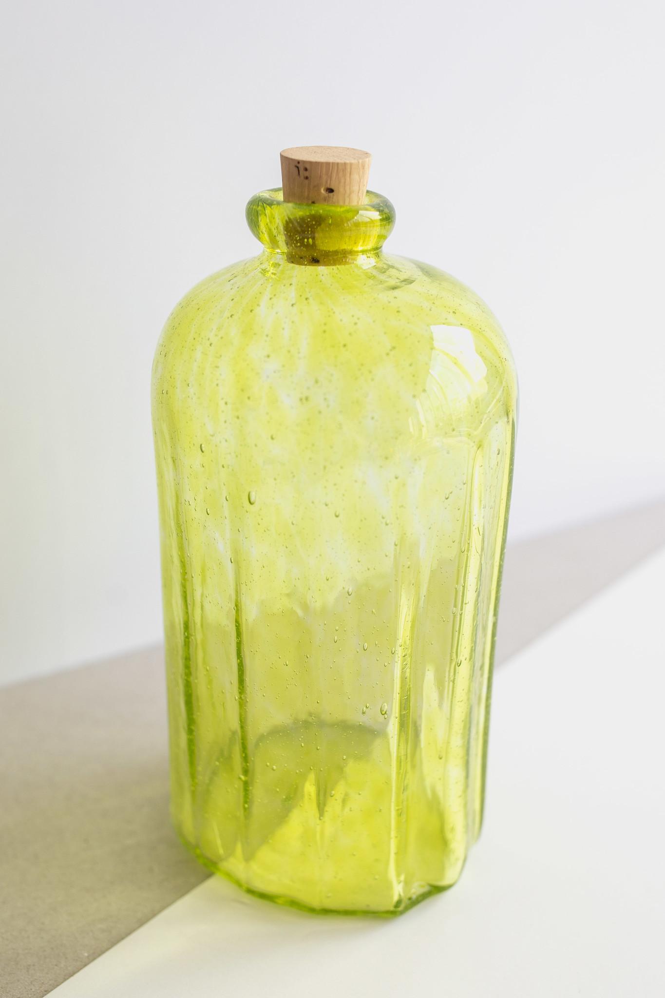 Hand-blown glass Bottle