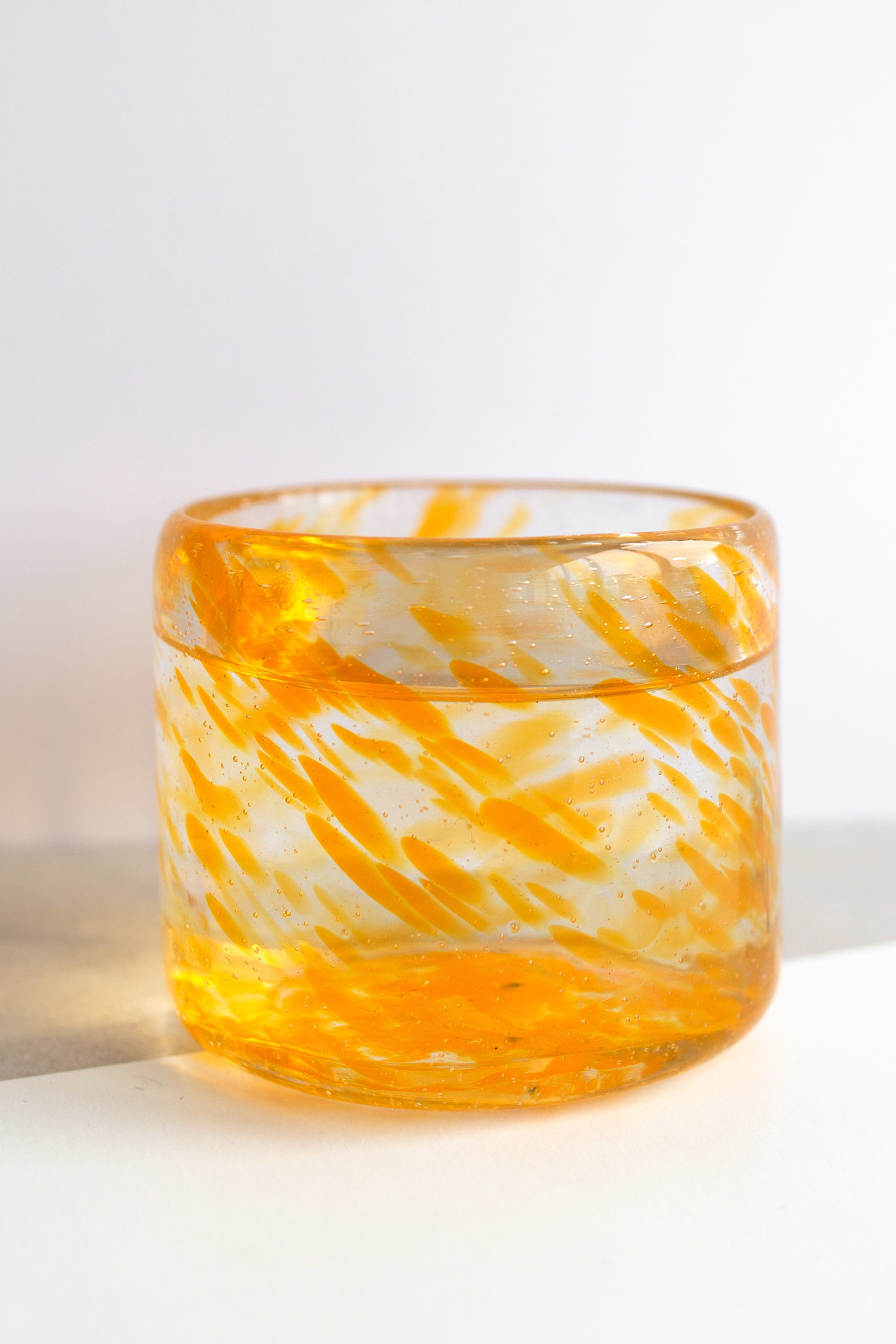 Hand-blown glass small