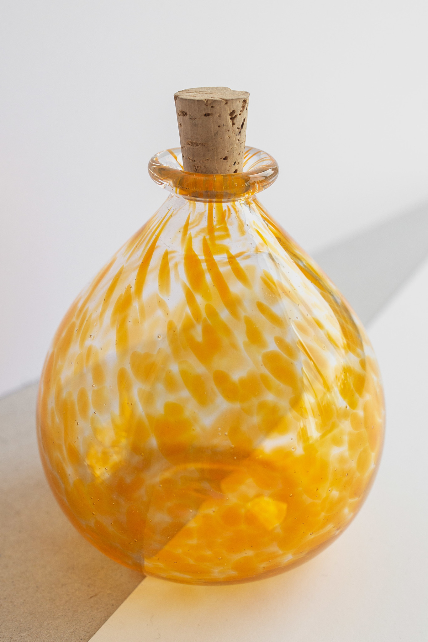 Hand-blown-carafe