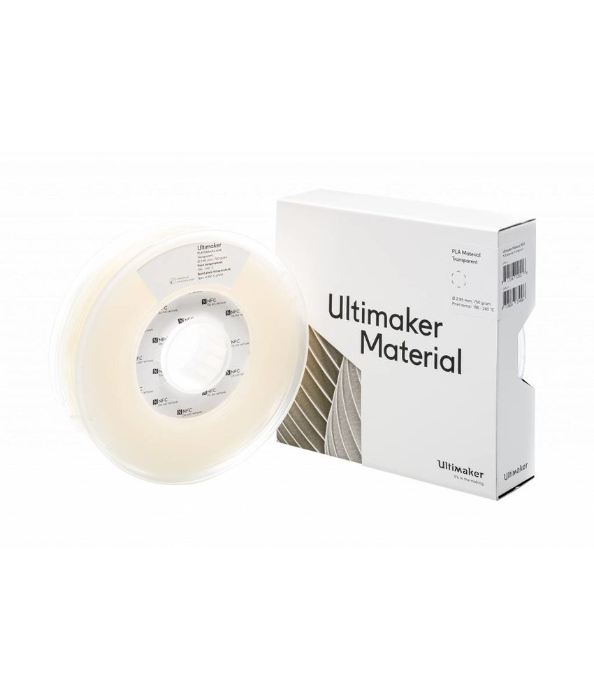 Ultimaker PLA 750gr (NFC) 2.85mm Transparent