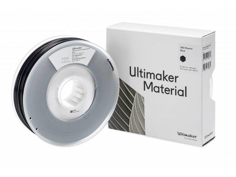 Ultimaker ABS 750gr (NFC) 2.85mm Black