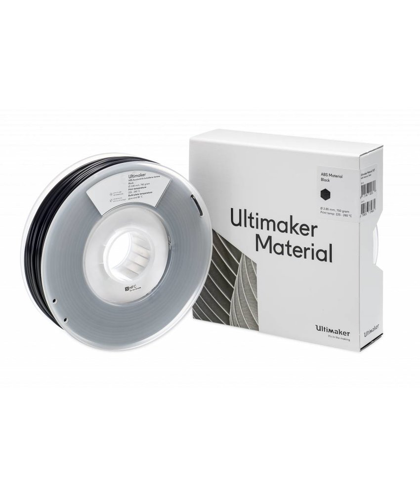 Ultimaker ABS 750gr (NFC) 2.85mm Black
