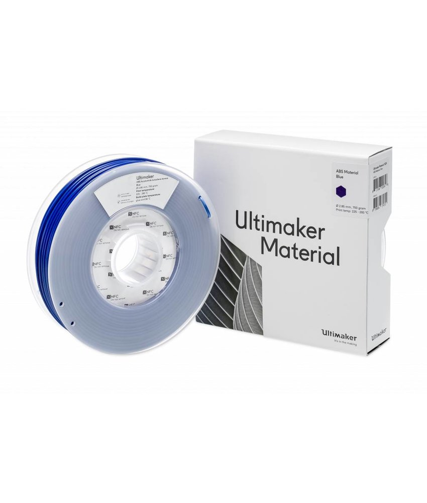 Ultimaker ABS 750gr (NFC) 2.85mm Blue