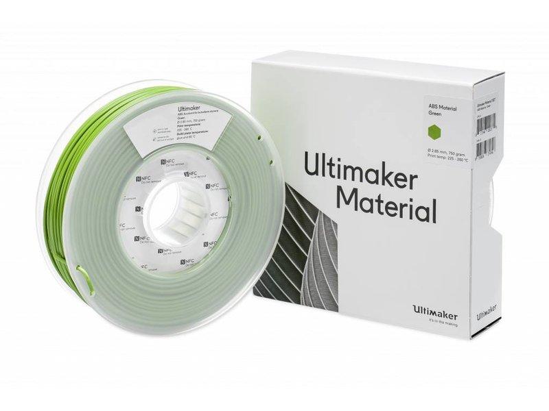 Ultimaker ABS 750gr (NFC) 2.85mm Green