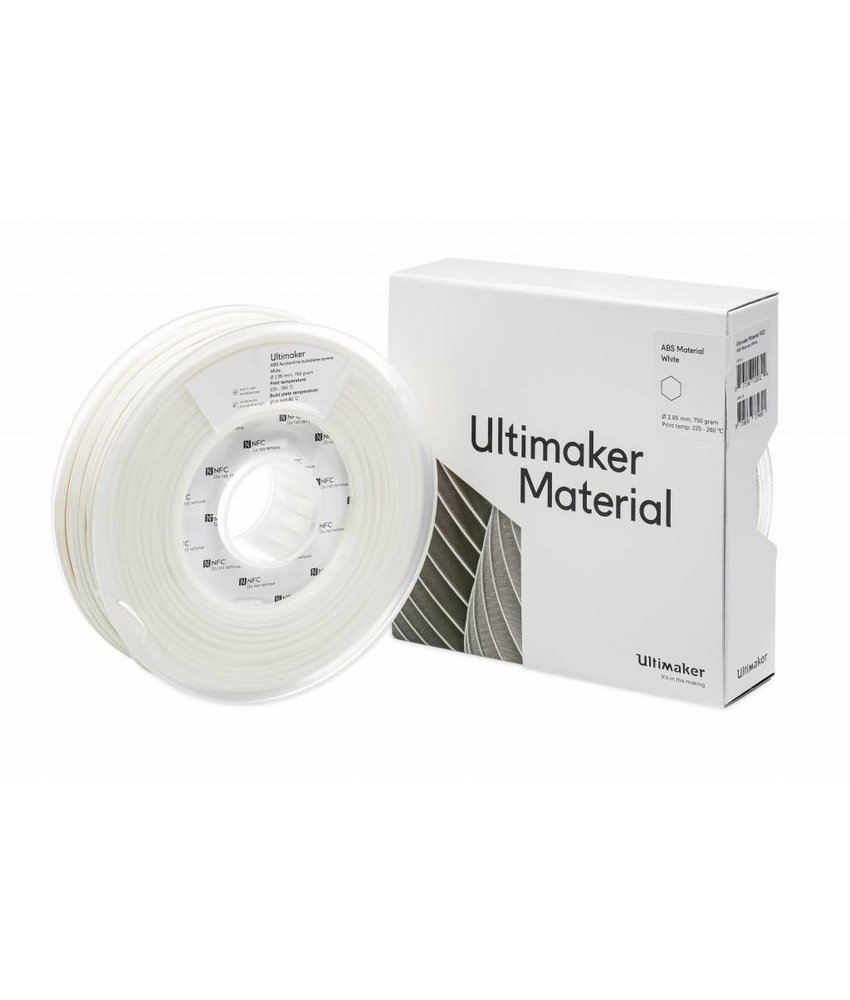 Ultimaker ABS 750gr (NFC) 2.85mm White