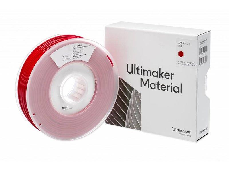 Ultimaker ABS 750gr (NFC) 2.85mm Red