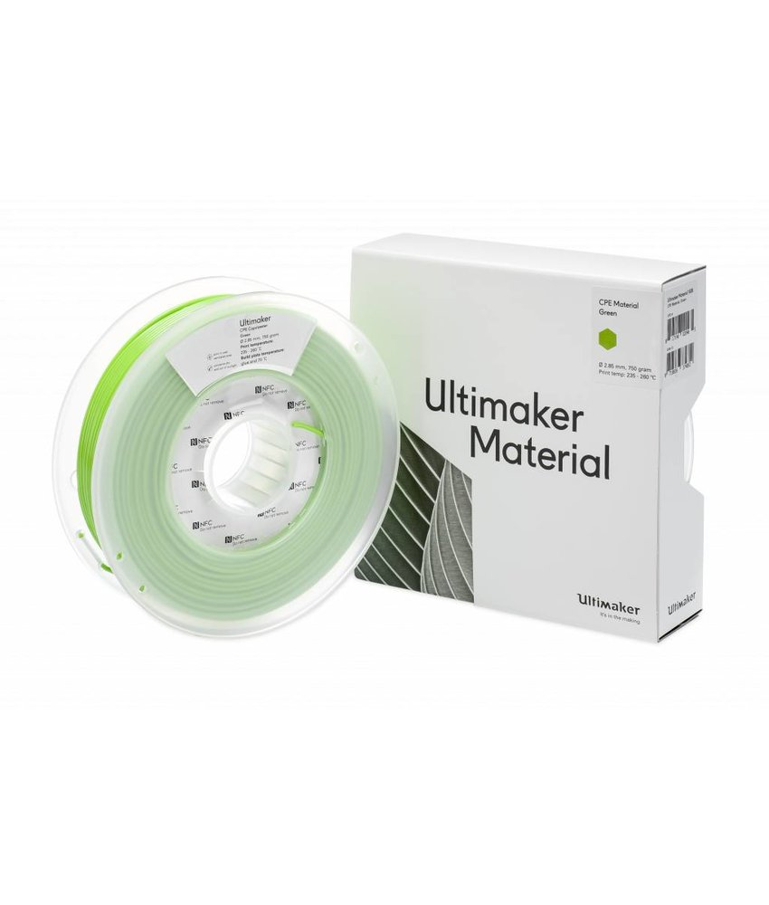 Ultimaker CPE 750gr (NFC) 2.85mm Green