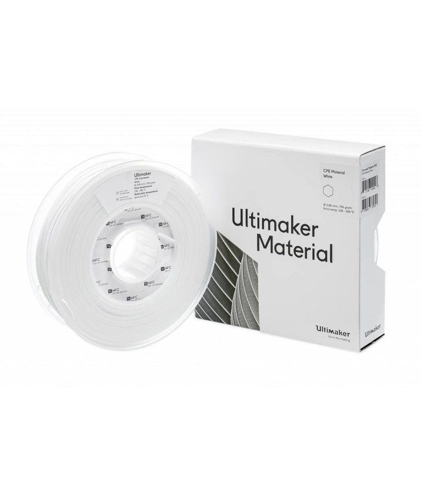 Ultimaker CPE 750gr (NFC) 2.85mm White