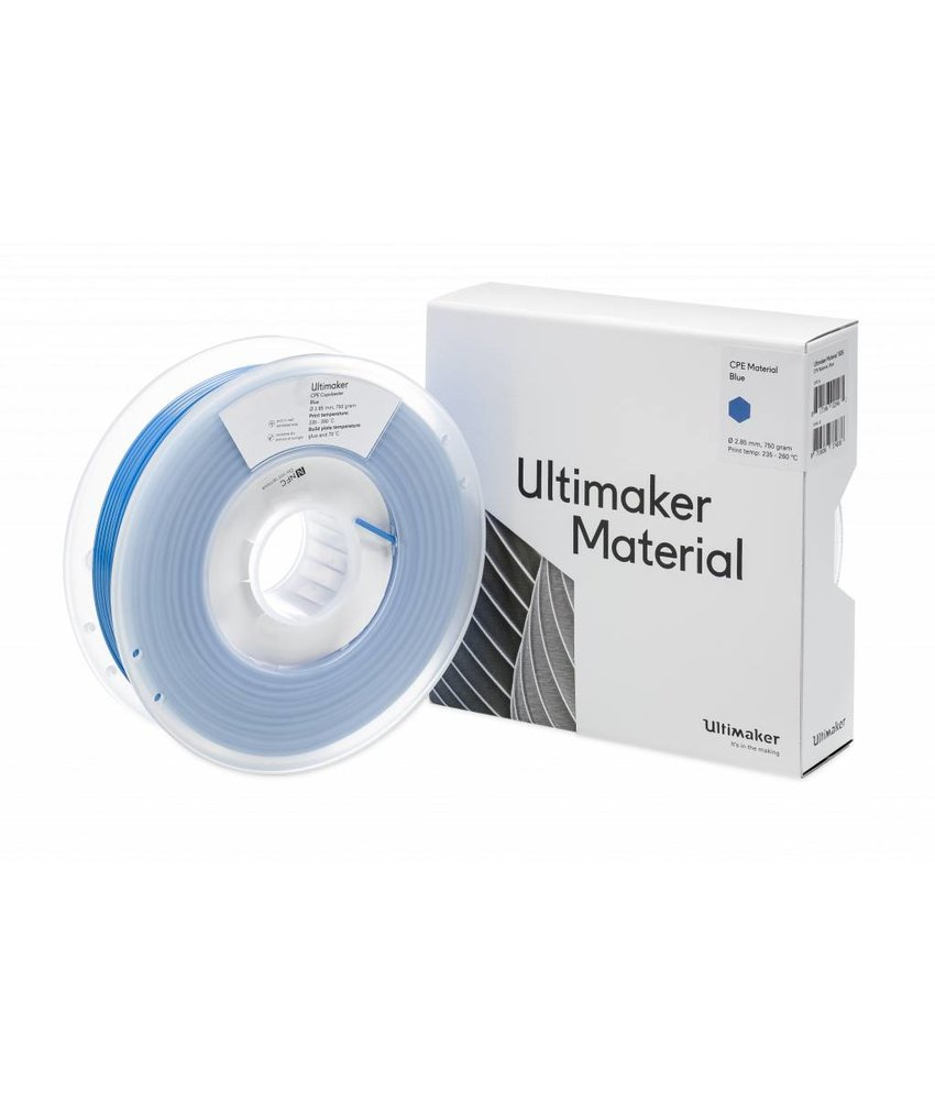Ultimaker CPE 750gr (NFC) 2.85mm Blue
