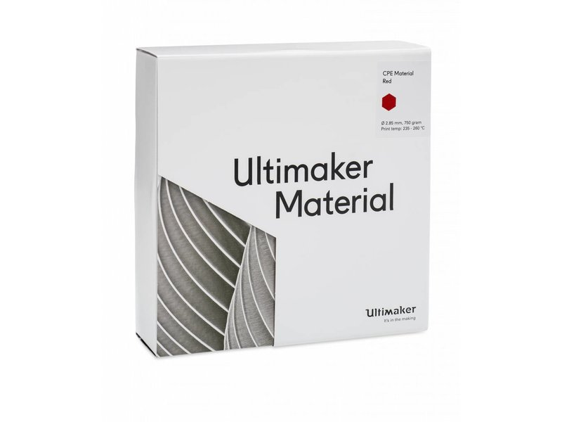 Ultimaker CPE 750gr (NFC) 2.85mm Red